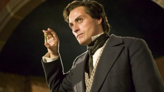 Rufus Sewell Head Vamp in Abraham Lincoln: Vampire Hunter!!