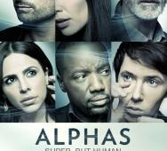 Syfy Alphas Season 2  - Official Poster