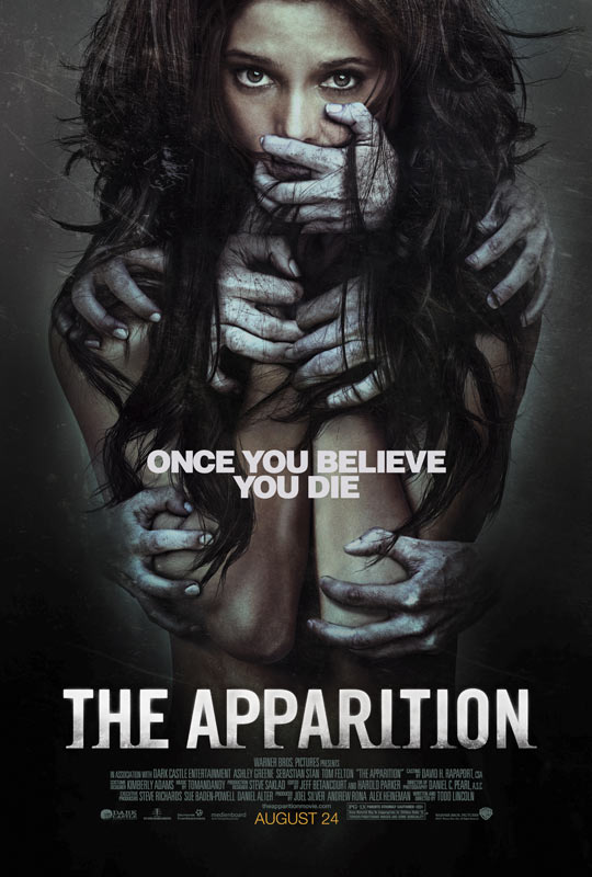 Two Scary Clips from The Apparition