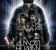 The Dude Designs Back With Almost Human Poster