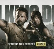 AMC The Walking Dead Season 4 - Comic Con Banner