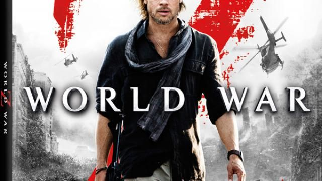 World War Z - Brad Pitt/Zombies Blu-ray 3D - Cover Art