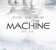 Toby Stephens and Caity Lotz in The Machine - Movie Poster