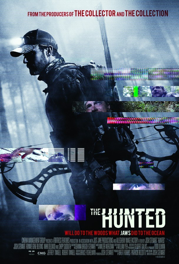 Josh Stewarts The Hunted - Movie Poster