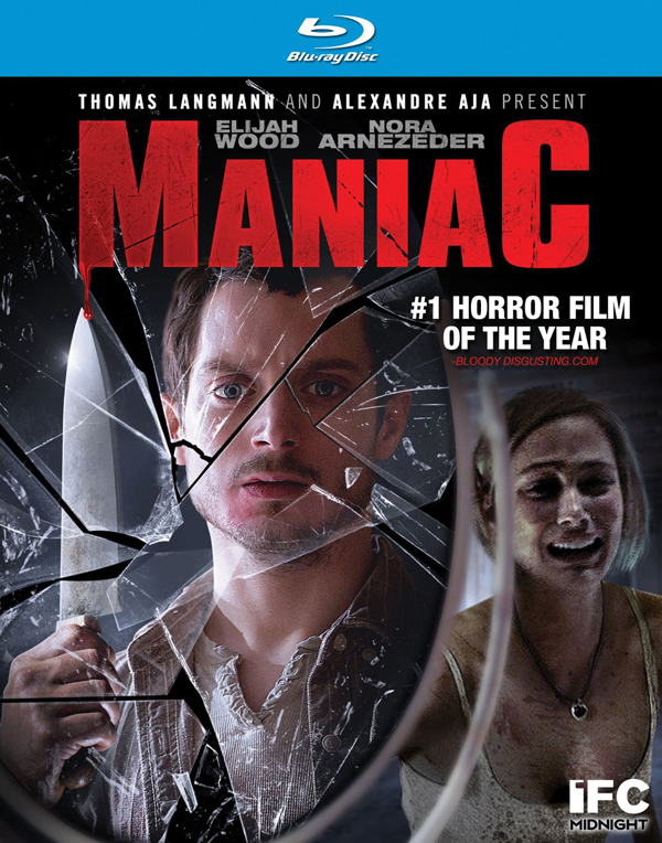 Elijah Woods Maniac - Blu-ray/DVD Artwork and Release Date