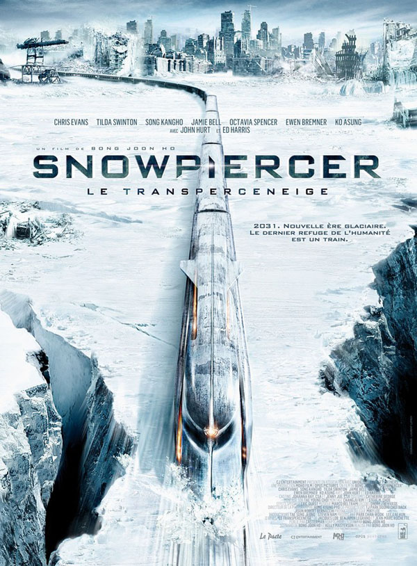 Bong Joon-hos Snowpiercer - French Movie Poster