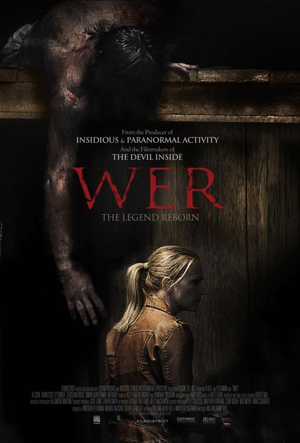 WER - New Werewolf Movie Poster