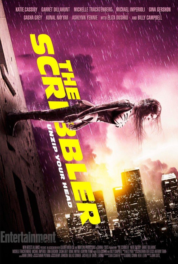 The Scribbler - Official Movie Poster