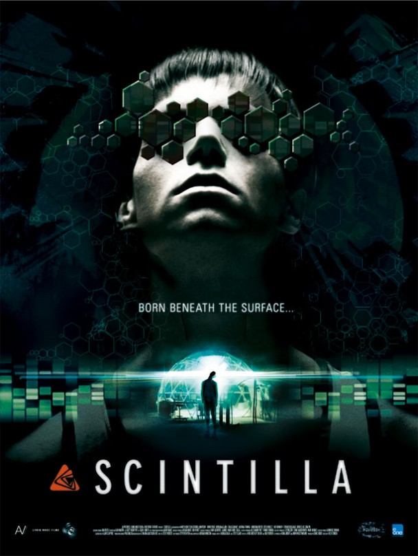 New Sci-fi Movie Scintilla - Movie Poster