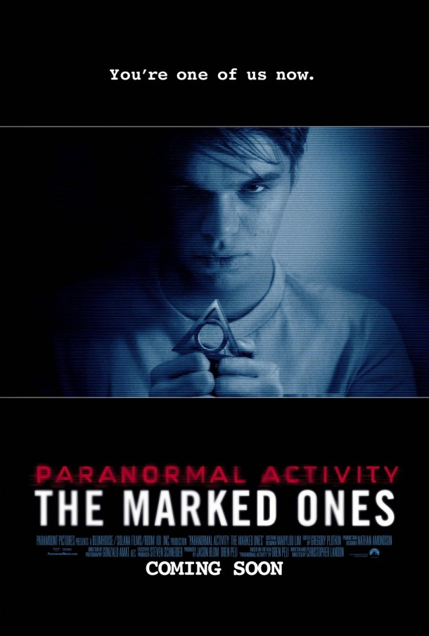 New Paranormal Activity: The Marked Ones Poster