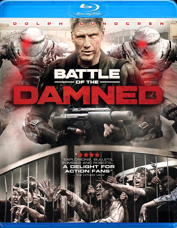 Dolph Lundrgen - Battle of the Damned Blu-ray Details