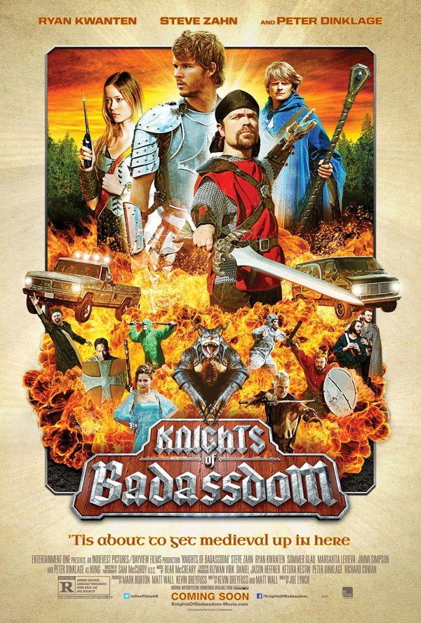 Joe Lynchs Knights of Badassdom - Poster
