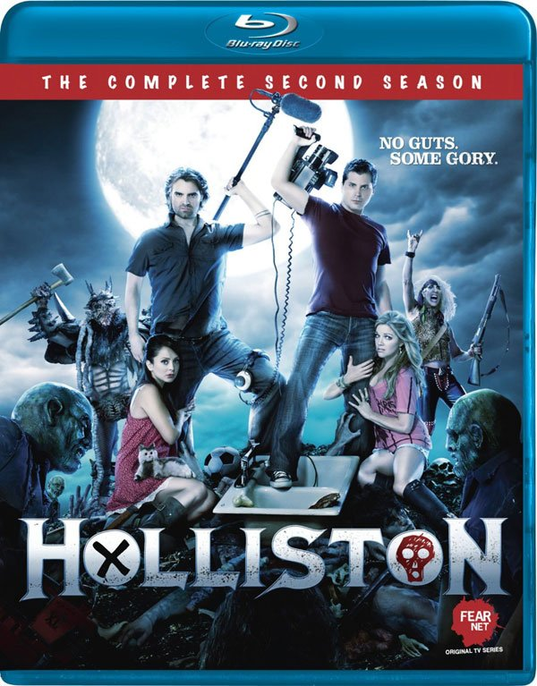 FEARnets Holliston Season 2 Blu-ray / DVD Release Details and Art