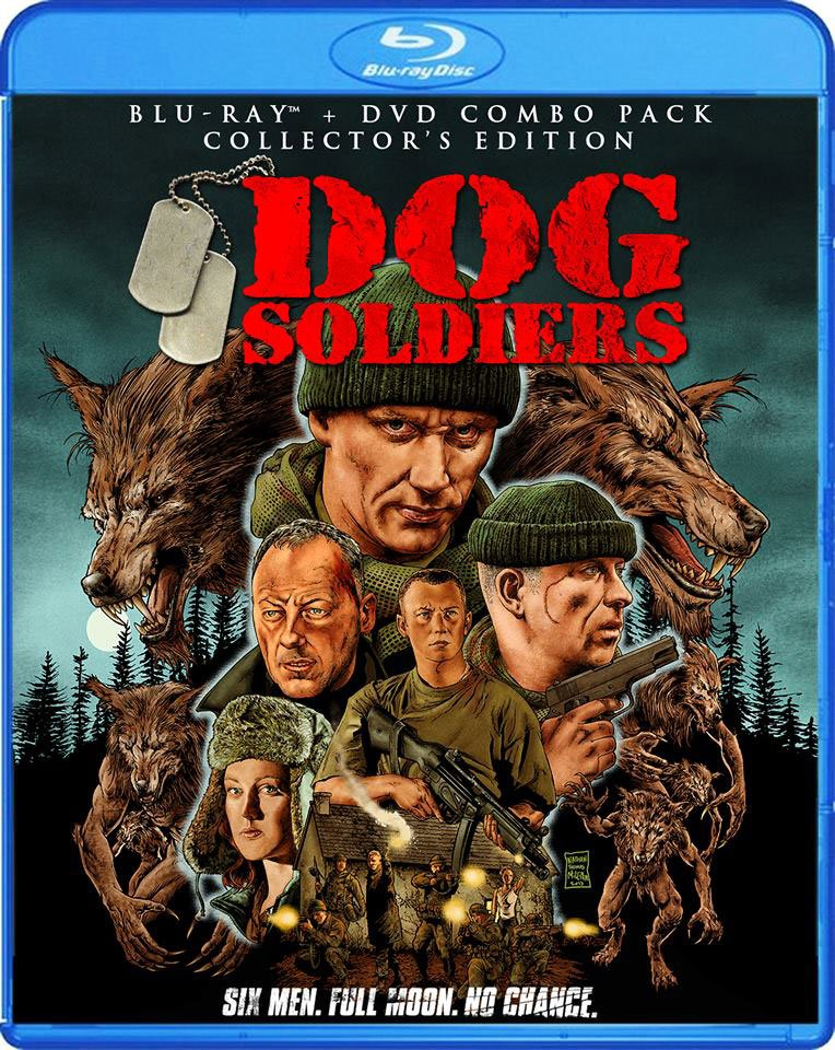 Dog Soldiers - Blu-ray / DVD Release Details and Cover Art