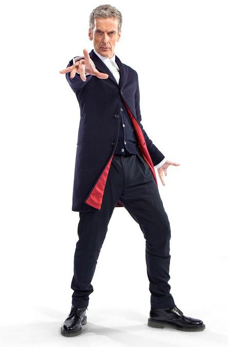 Peter Capaldi as Doctor Who First Photo