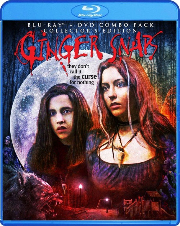 Scream Factorys Ginger Snaps - Blu-ray Release Details and Cover Art