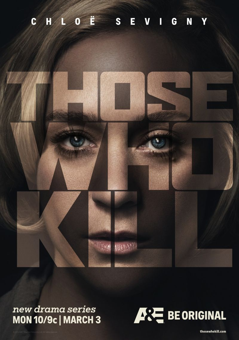 A&Es Those Who Kill - Promos and Poster Art