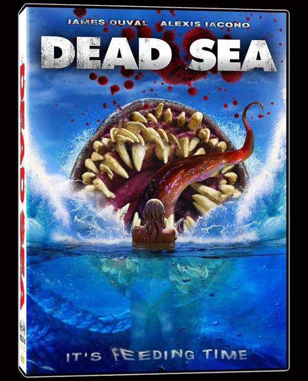 Brandon Slagles Dead Sea - DVD Details and Art