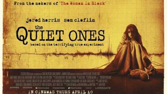 The Quiet Ones - New UK Quad Poster