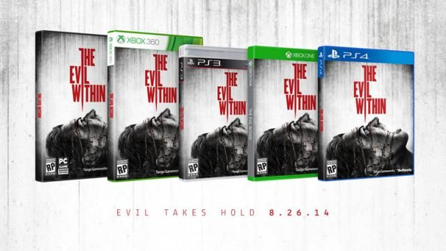 The Evil Within - Horror Game Release Date and Cover Art