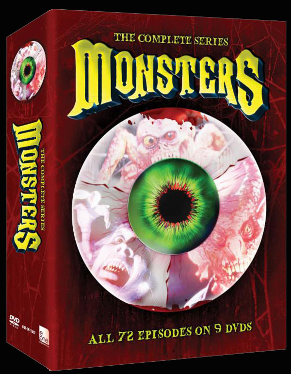 Monsters TV Series - DVD Release Details and Artwork