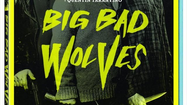 Big Bad Wolves - Blu-ray / DVD Release Details and Cover Art