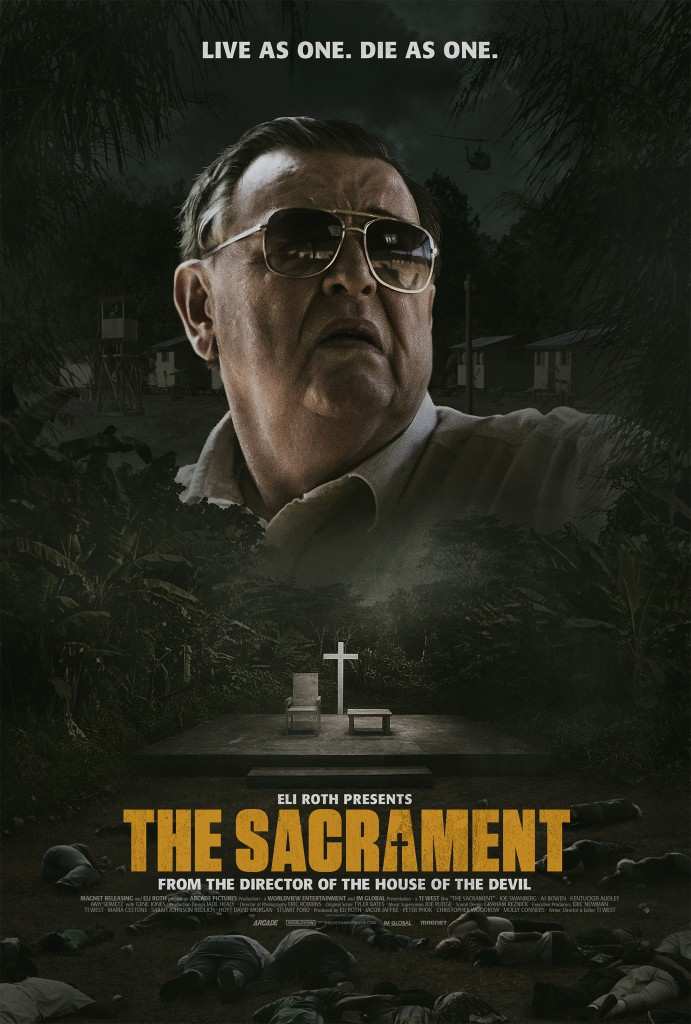Ti Wests The Sacrament - VOD / Theater Release Details and Art