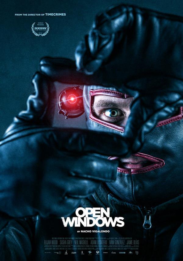 Nacho Vigalondos Open Windows - New Poster