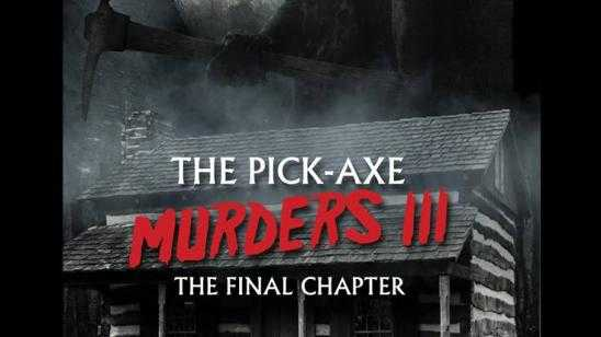 New Artwork for The Pick-Axe Murders III: The Final Chapter