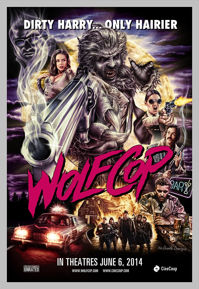 Wolfcop Poster is Awesome