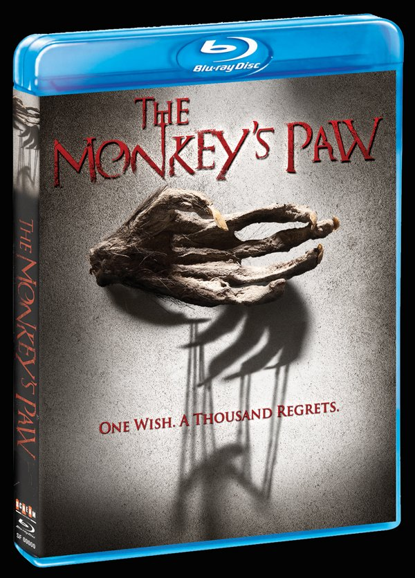 The Monkeys Paw - Blu-ray / DVD Release Details