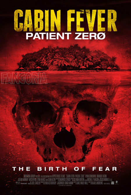 Kaare Andrews Cabin Fever: Patient Zero U.S. Poster