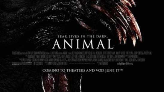 Brett Simmons New Horror Movie Animal Poster
