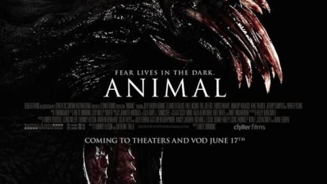 Brett Simmons New Horror Movie Animal Poster