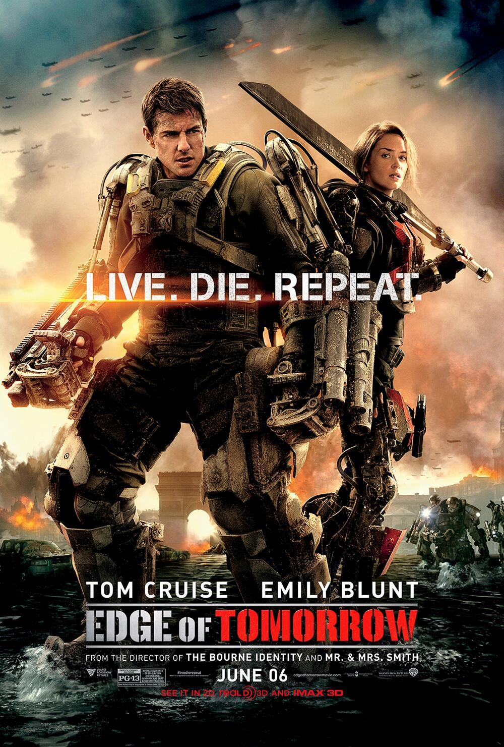 New Edge of Tomorrow Poster