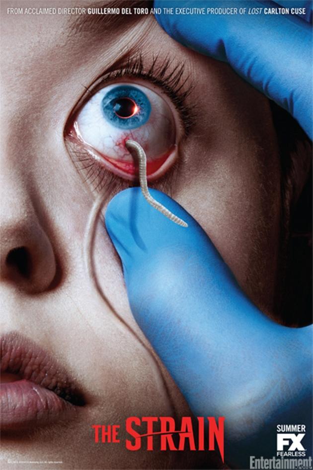 FX & Guillermo del Toros The Strain - New Poster