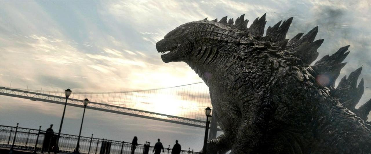 Gareth Edwards Godzilla - Close-up Movie Still