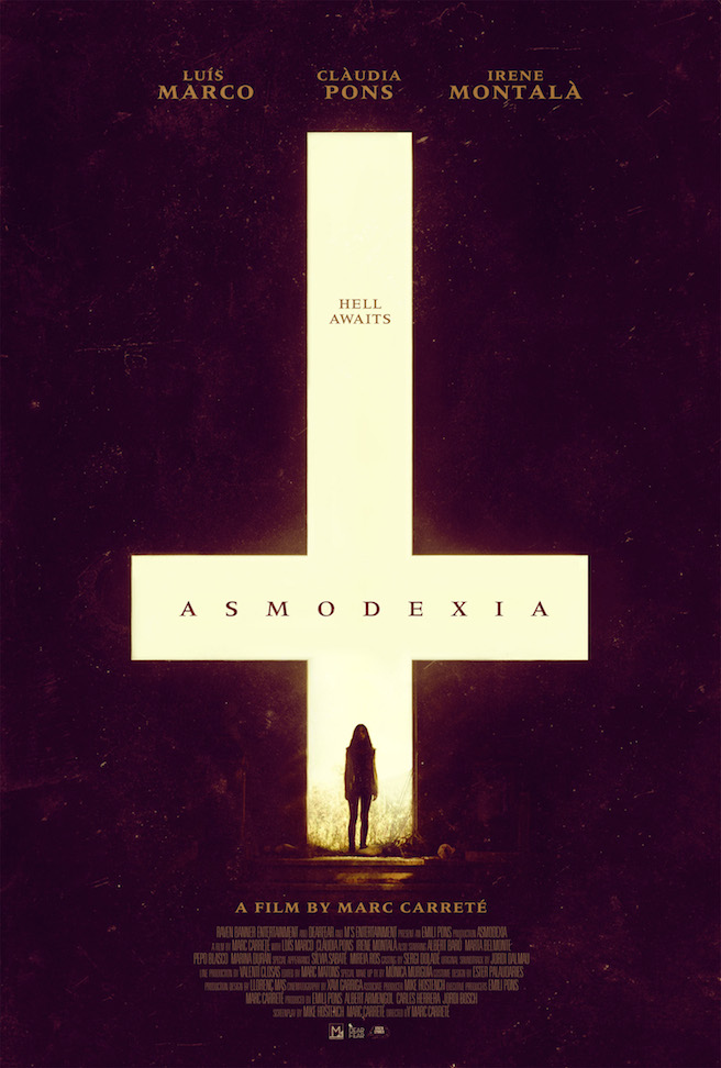 New Poster for Marc Carretes Asmodexia