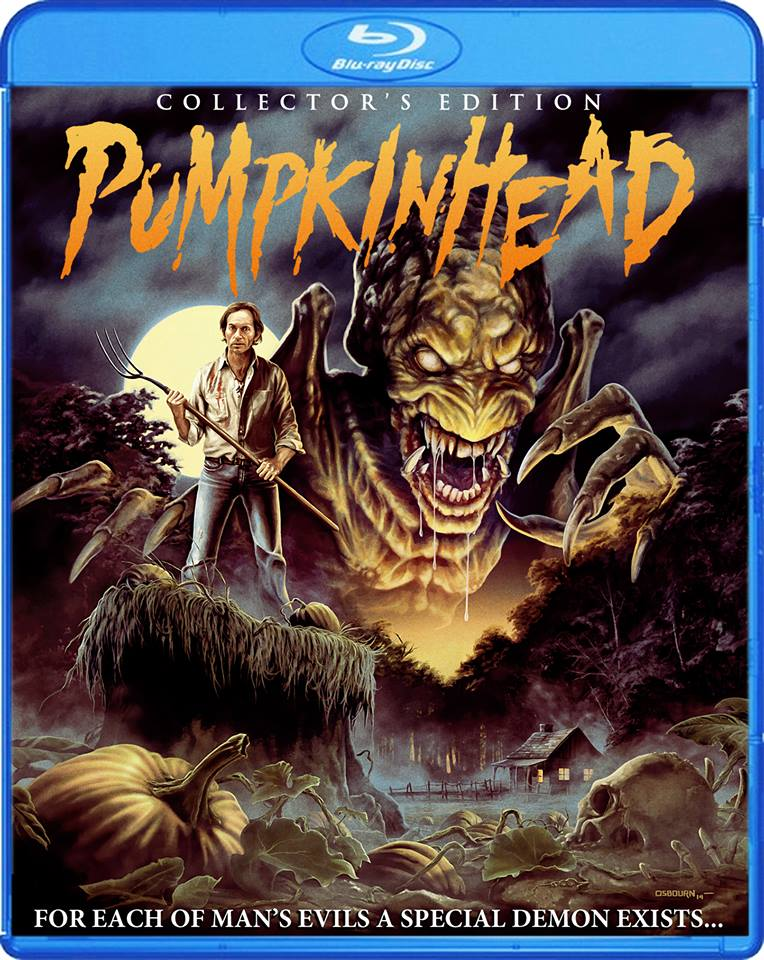 Scream Factorys Pumpkinhead Blu-ray Art