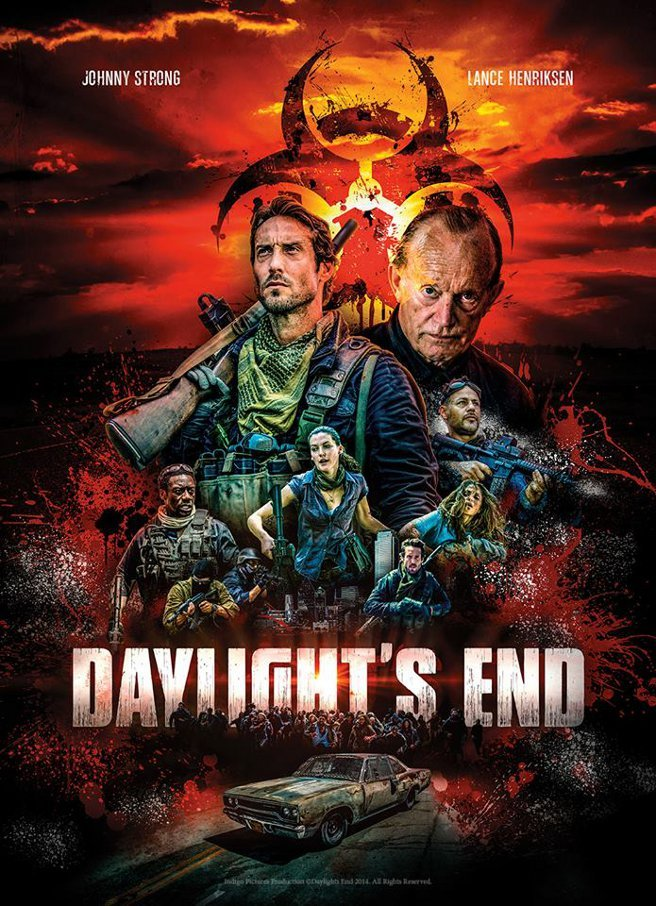 Zombie Movie Daylights End Teaser & Poster