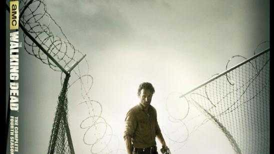 AMCs The Walking Dead Season 4 Blu-ray/DVD Cover Art & Trailer