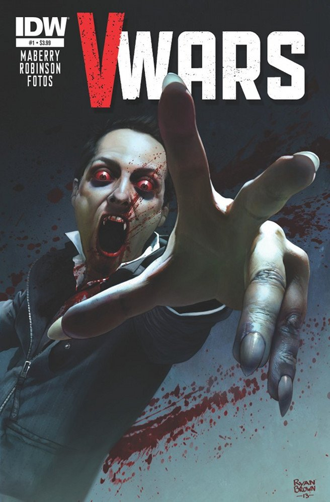 IDW V-Wars to Become a TV Series - Dexter & The Walking Dead Producers Attached