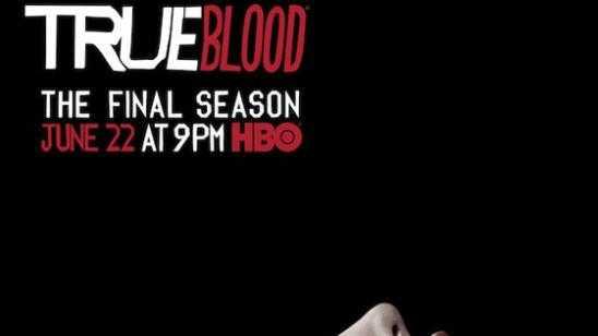 HBOs True Blood Final Season 7 Poster - Tears of Blood