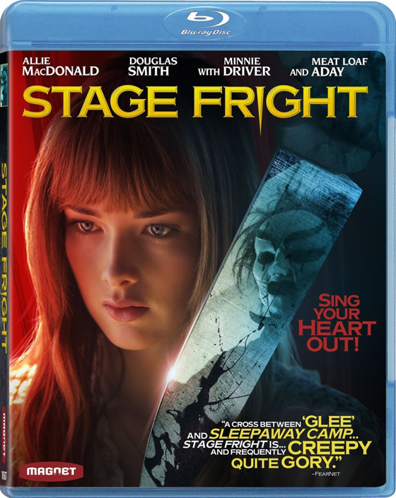 Stage Fright Blu-ray and DVD Release Date Plus Cover Art