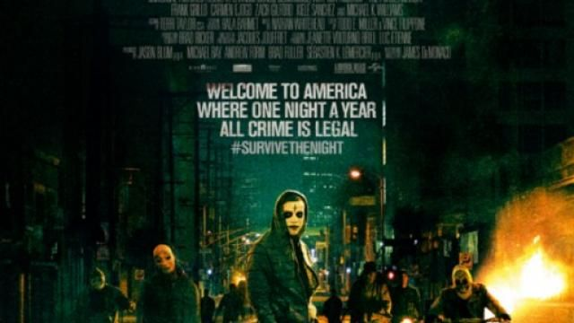 The Purge: Anarchy - New Poster Shows Villains