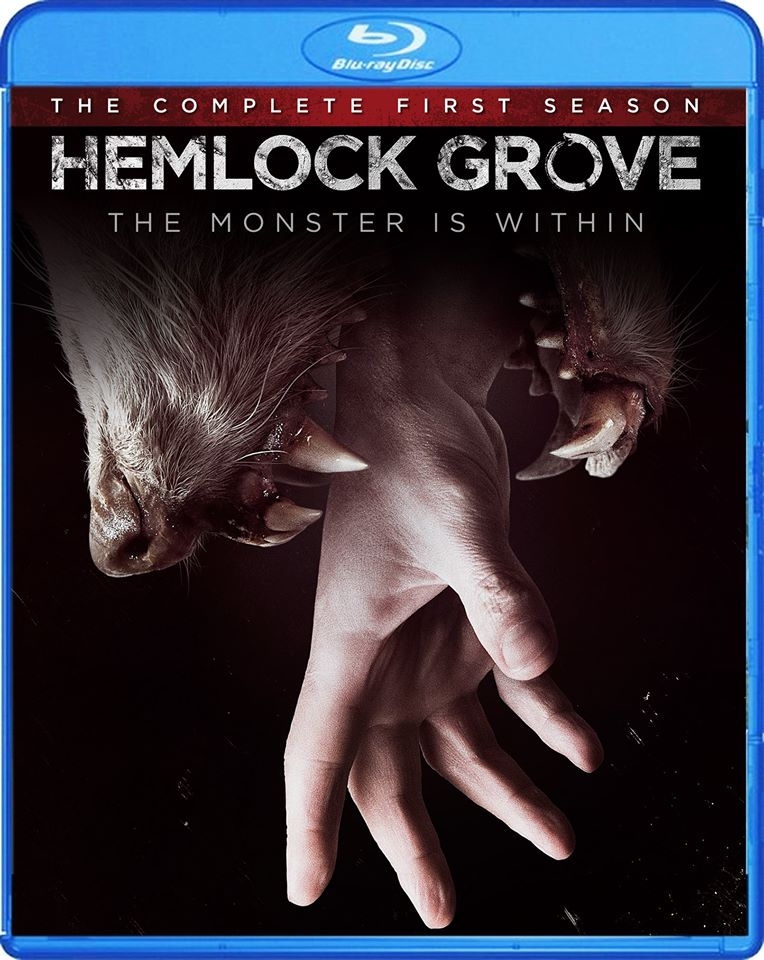 Netflixs Hemlock Grove Season 1 Blu-ray / DVD Details and Cover Art