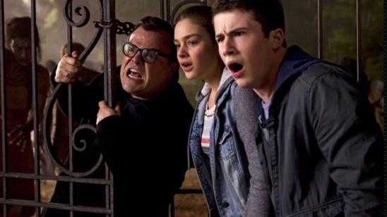 Jack Black as R. L. Stine in Goosebumps (2015) Movie Photos