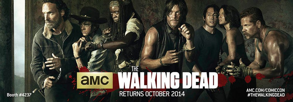 AMCs The Walking Dead Season 5 Comic-Con Poster Revealed