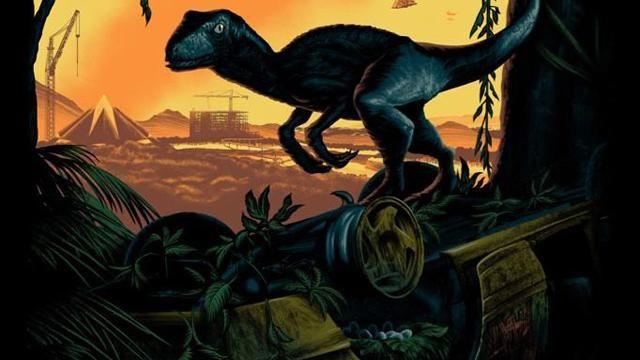 Jurassic World San-Diego Comic-Con 2014 Poster