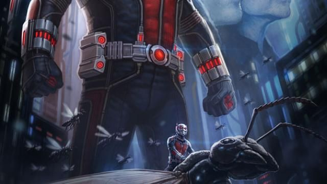 Exclusive Comic-Con Marvel Ant-Man Poster
